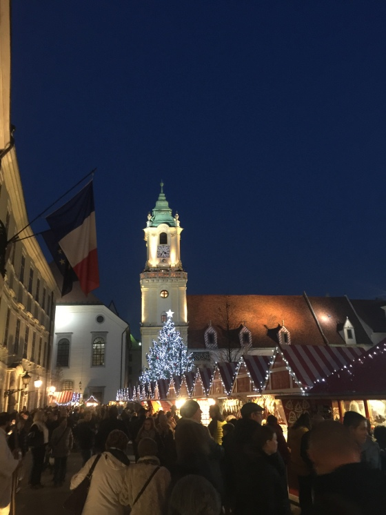Christmas Markets were in full swing...